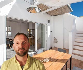 Portugal - Richard verhuurt zijn boutique townhouse