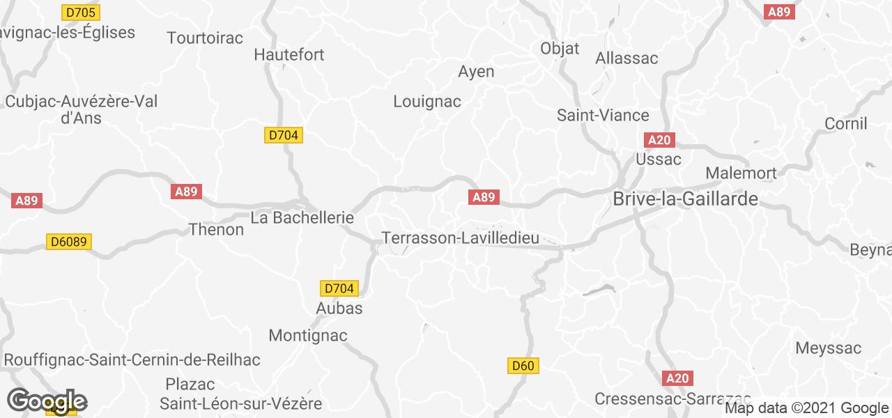 La Mirabelle 90m2 modern en comfort in Cublac, Dordogne